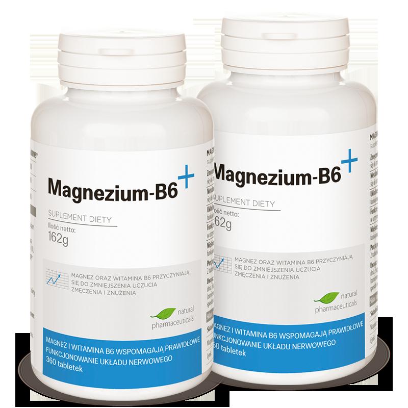 Magnezium B6 zapas roczny Natural Pharmaceuticals