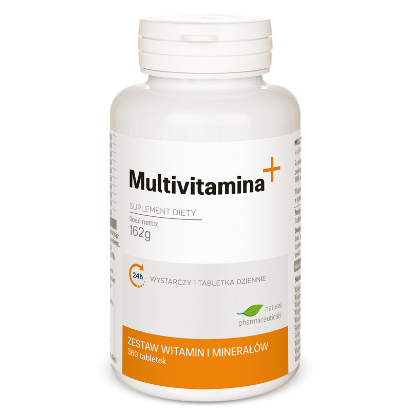 Multivitamina plus zapas roczny Natural Pharmaeuticals