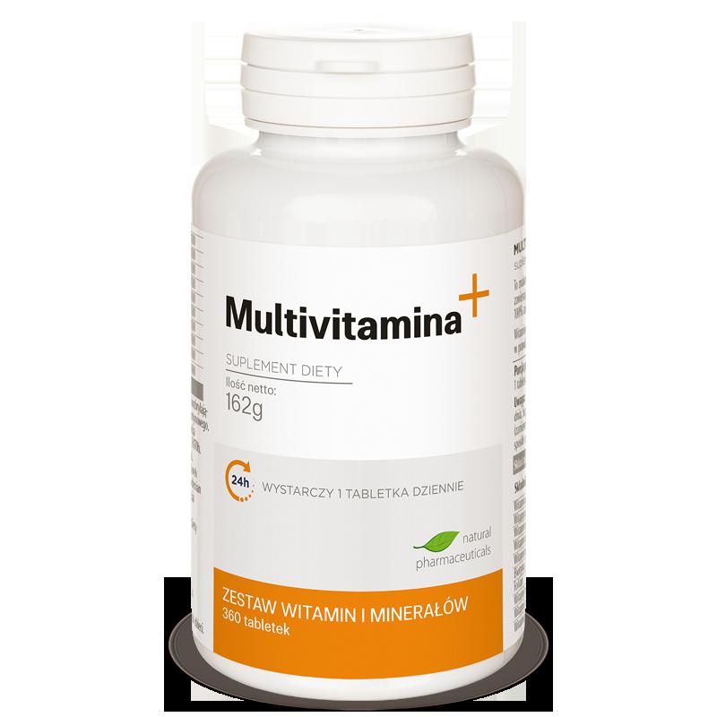Multivitamina plus zapas roczny Natural Pharmaeuticals