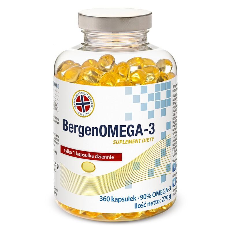 BergenOMEGA-3 zapas roczny